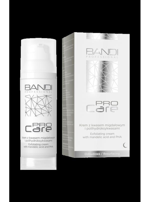 Krem z kwasem migdałowym i polihydroksykwasami PRO CARE BANDI