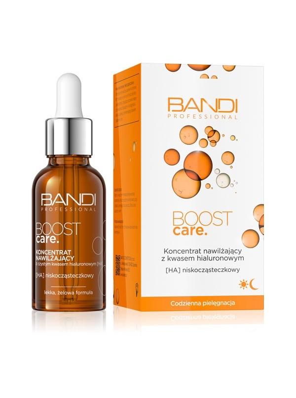 Nawilżający koncentrat z czystym kwasem hialuronowym BOOST CARE BANDI