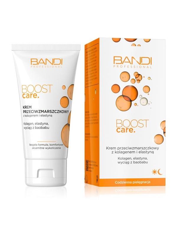 Krem przeciwzmarszczkowy z kolagenem i elastyną BOOST CARE BANDI